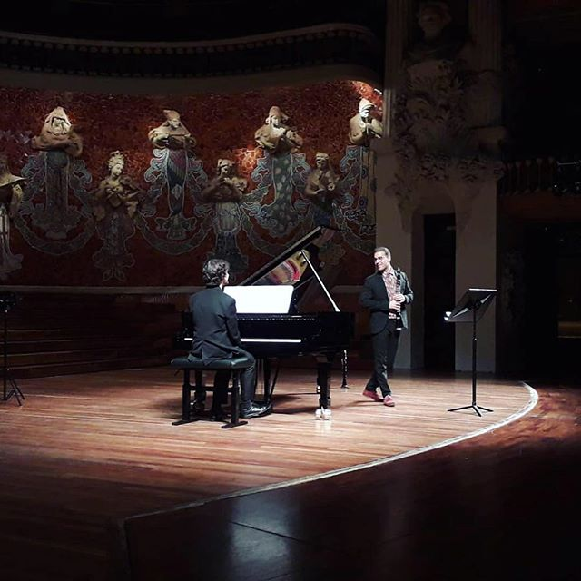 The most special Jewish Life concert!! #palaudelamusica #music #clarinet #piano #klezmer #jewish #barcelona #culture #mylegere