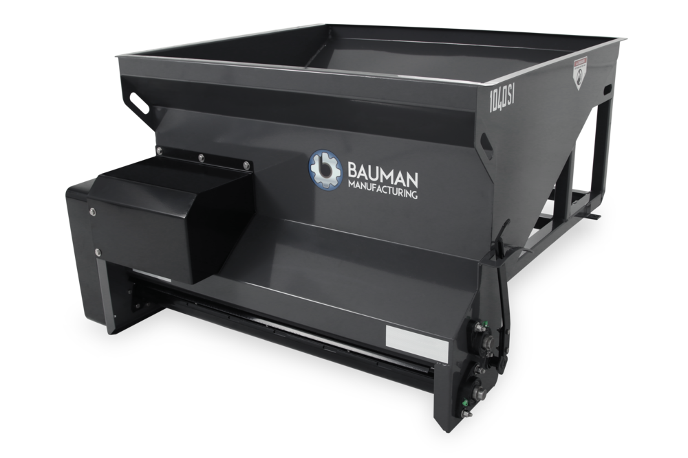 Bauman Drop Spreader Model 1040SI