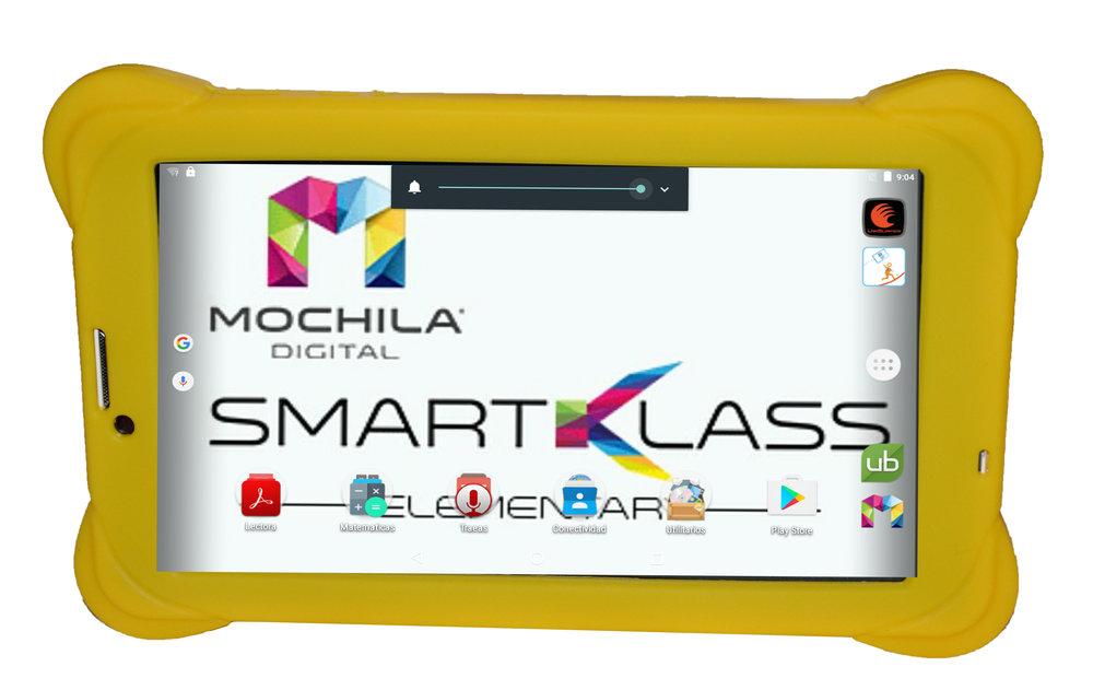 Smart Klass Elementary - La nueva Generación de Mochila Digital Student 3G7iQ Smart Klass Elementary es una revolucionaria solución integral educativa-interactiva para el siglo XXI.Además, viene integrada para hacer una transformación digital educativa- interactiva y ofrecer nuestras soluciones tecnológicas conforme a la necesidades cambiantes de nuestros usuarios en el siglo XXI.