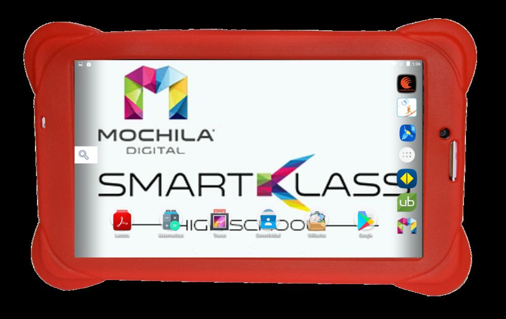 Smart KlassHigh School - Smart Klass High School Student 3G7iQ, la nueva generación creado especialmente para estudiantes de Secundaria, con más potencia en la batería de Extra larga Duración, Flash 8GB, con una memoria de 32 GB estándar con expansión hasta 128GB.Viene a transformar la tecnología educativa e interactiva, pensando en las necesidades cambiantes de nuestros usuarios en el siglo XXI.