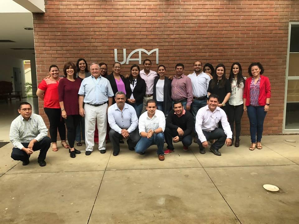 Canvas UAM - Mochila Digital, estuvo presente en la Universidad Americana (UAM), donde se realizó la presentación de Business Model Innovation Mochila Digital