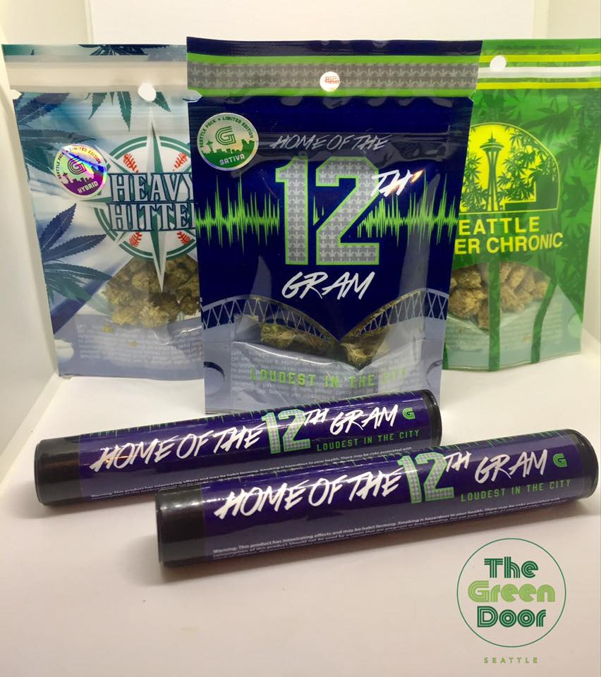 Game Day Specials all weekend long! $5 pre rolls, $8 grams and $25 eighths. Go Hawks!!