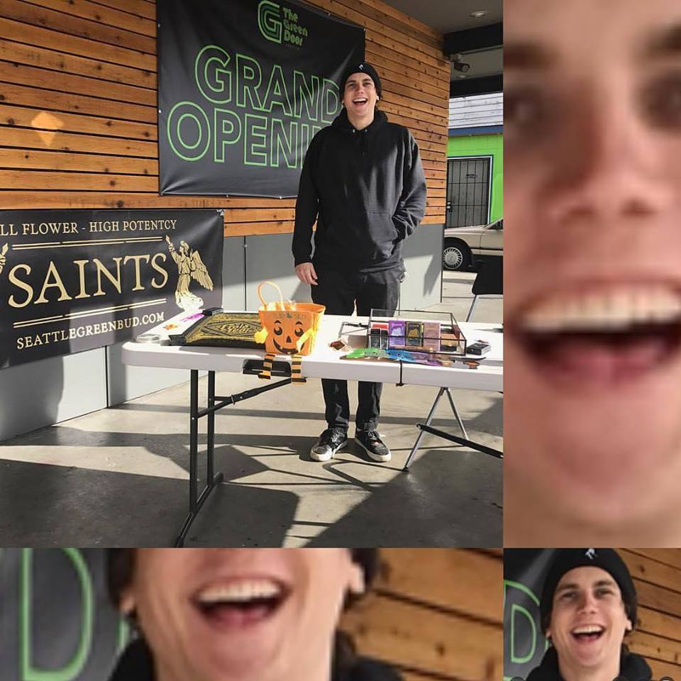 Vendor Day today with Saints Joints. Tomorrow is your last day to get in on the deals. Stop by The Green Door and get 10% off Saints products.