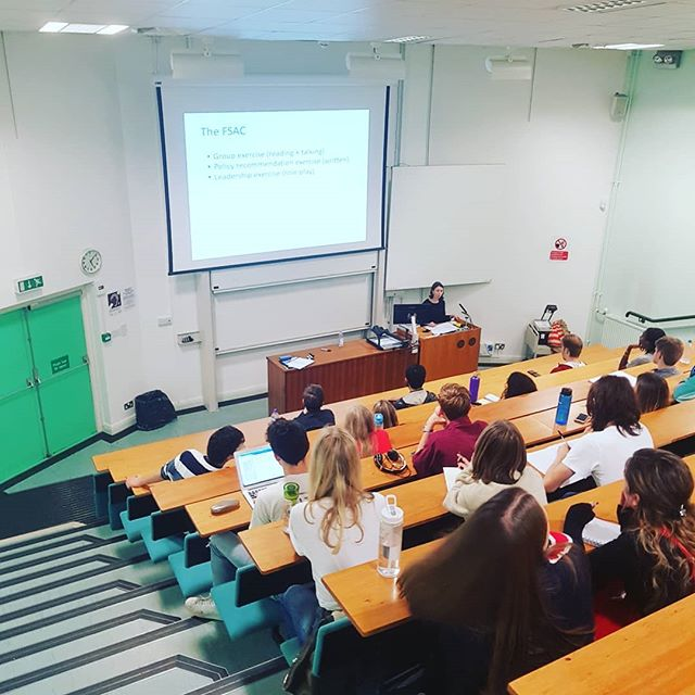 Another great careers event, this time with Elizabeth Doherty from the GES talking about her experience as a Government Economist. Keep an eye out for many more careers events coming up.