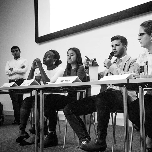 Hope you all enjoyed Tuesday's advice panel on interships and how to get one! Check your emails for more upcoming events!
