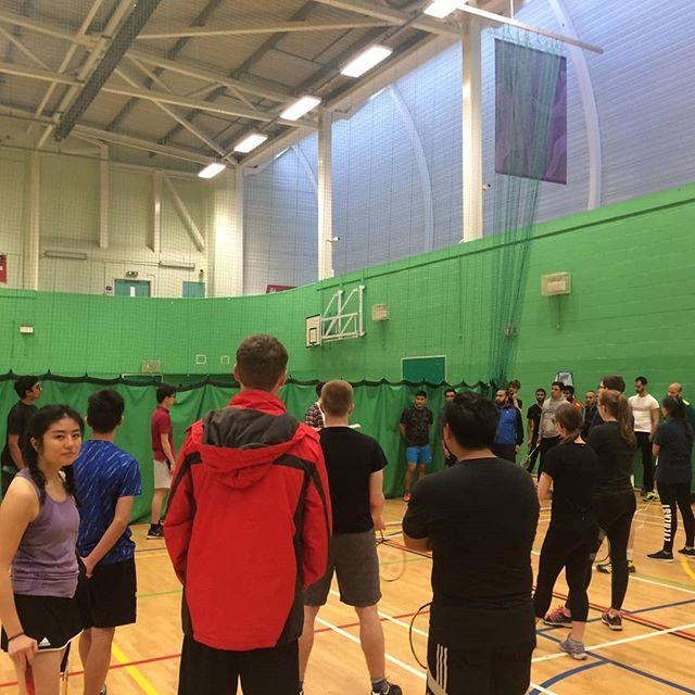 Great to see so many people at intramural badminton this week! Stay tuned for more sports opportunities with EFM!