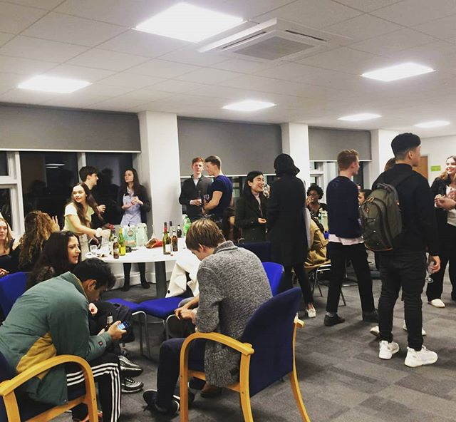 Great to see so many turn up yesterday at our careers event: EFM students are pro networkers after all 😏