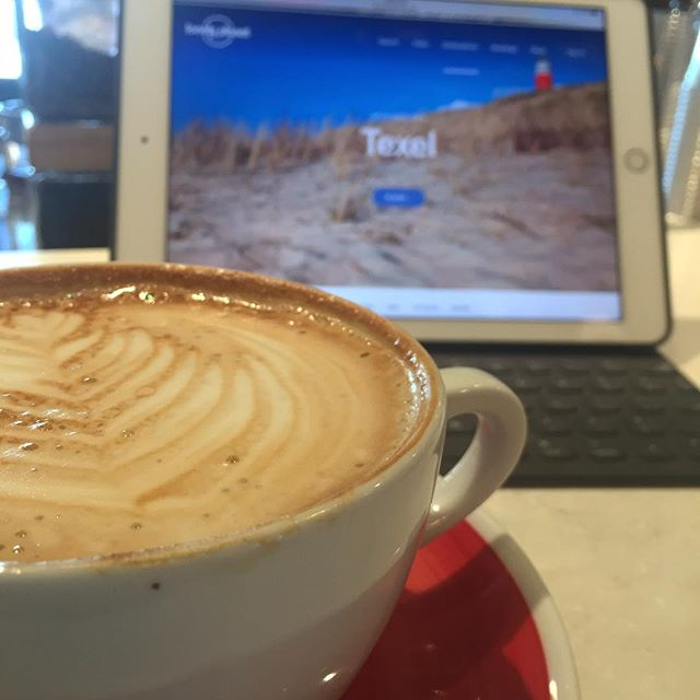 Day off = planning our next big adventure to the Netherlands and Iceland in March. And @harbingercoffee has the perfect latte for adventure dreams! . . . #fortcollins #visitfortcollins #harbinger #coffee #netherlands #wanderlust #adventure #seetheworld