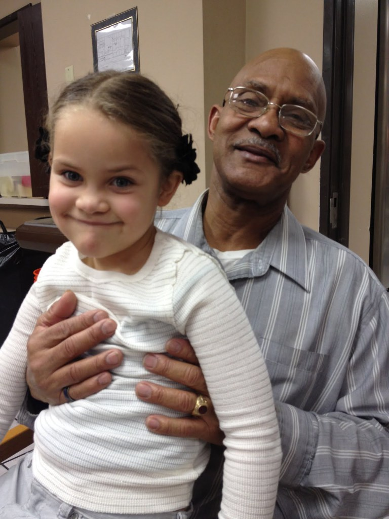 Veteran Ralph M. with his daughter after obtaining full custody with the assistance of HVAF and their holistic services.