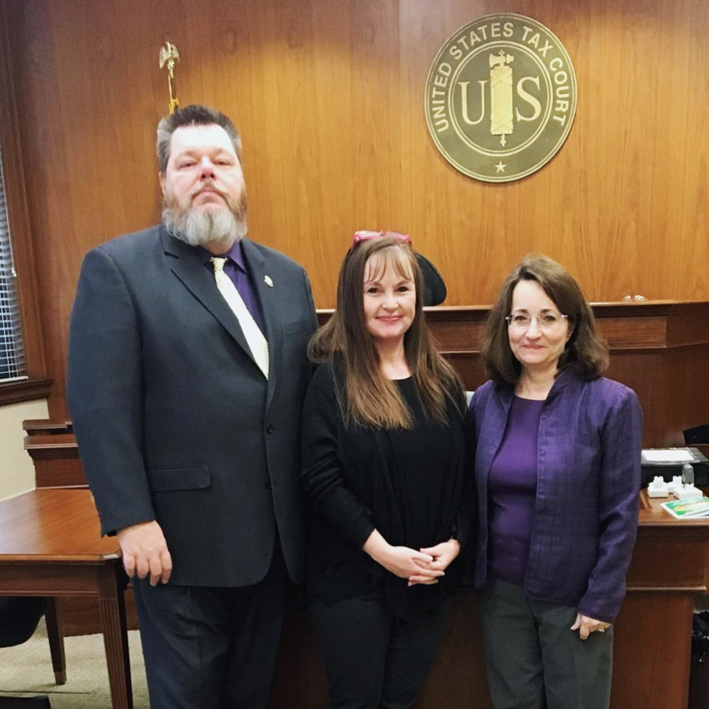 LITC Staff Team in U.S. Tax Court