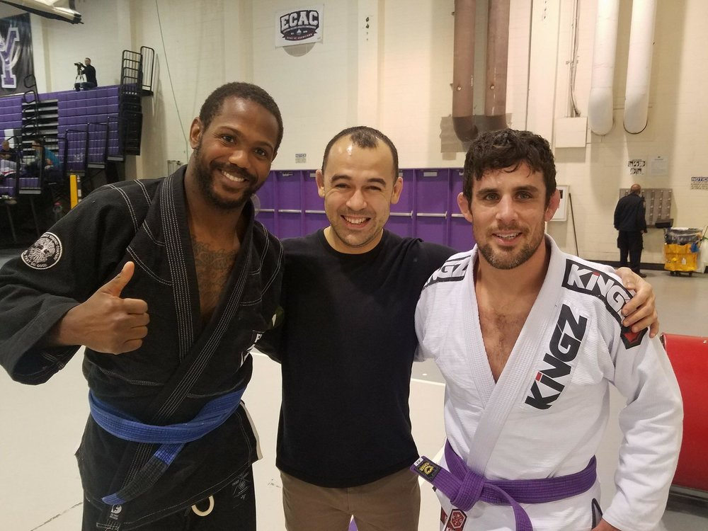 Darren Foote and Marcelo Garcia