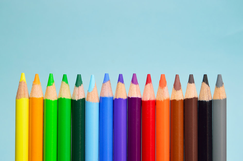 Copy of colored pencil set