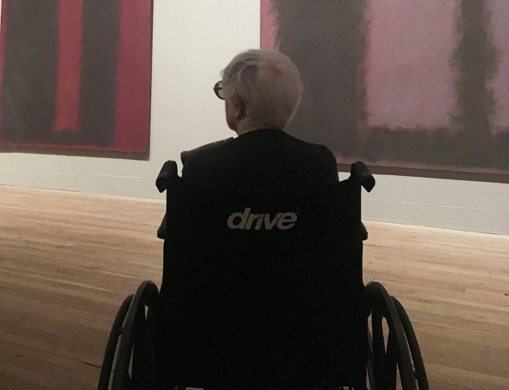 rise poem tate modern visit art therapy
