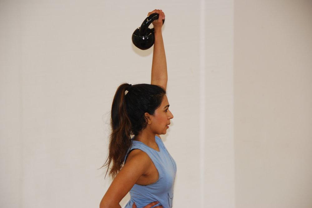 kettlebell fitness class