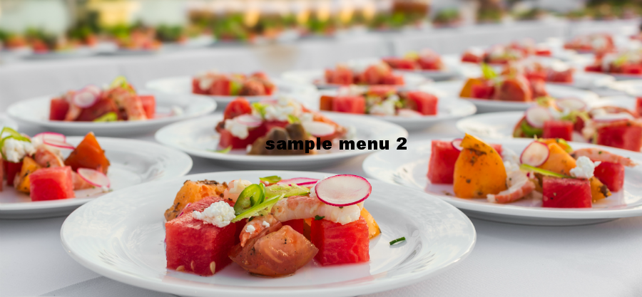 sample menu 2
