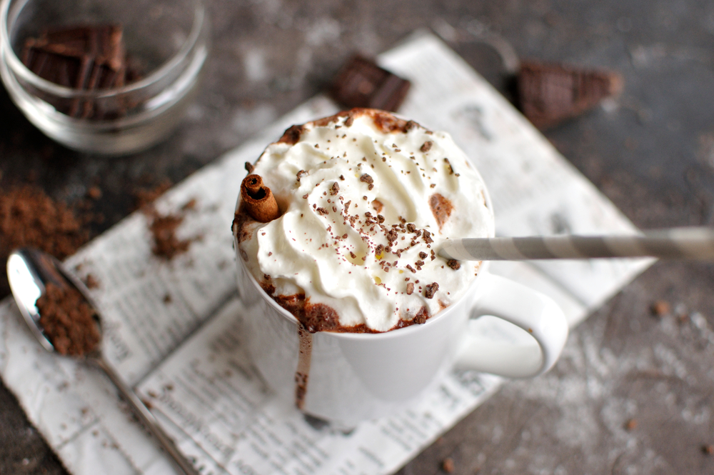 Hot Cocoa  with straw.JPG
