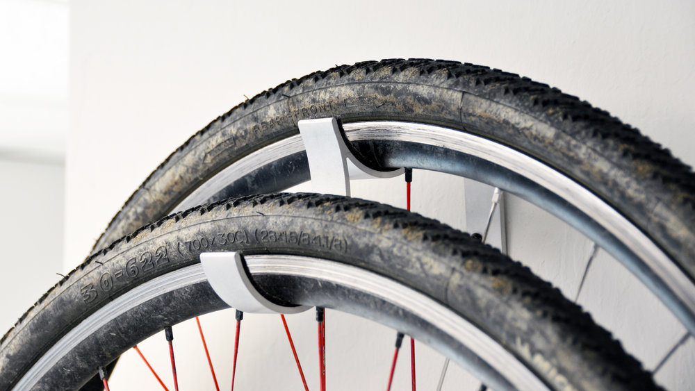 Bicycle Wheel Storage