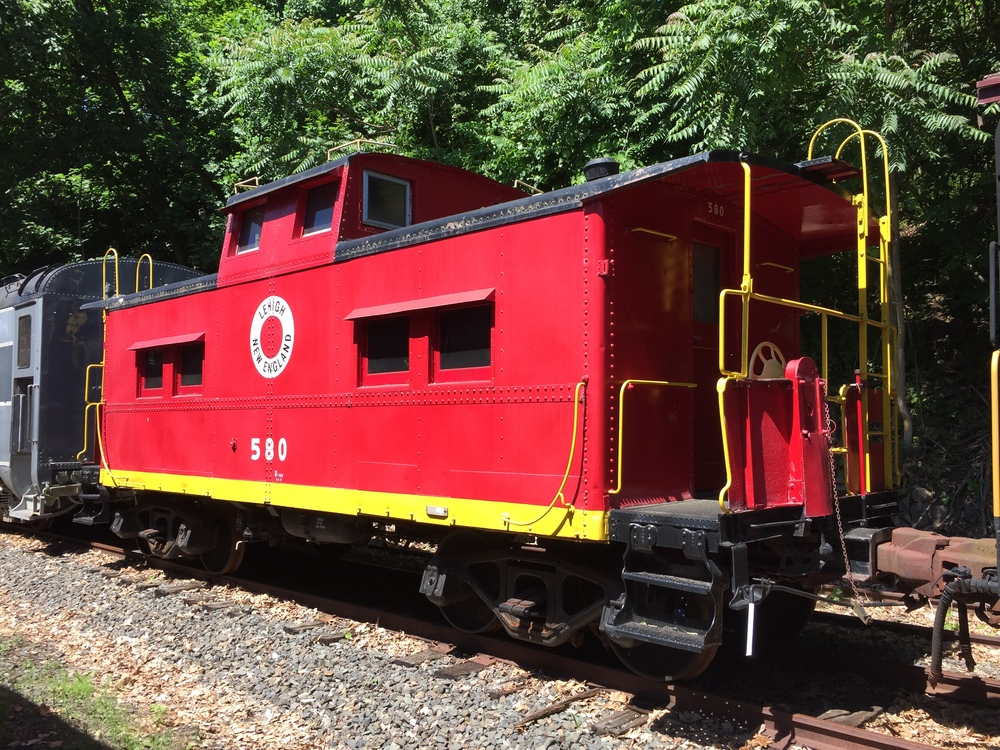 L&NE No. 580, as it appeared on June 12, 2016, in storage in Boonton, NJ.  (Rudy Garbely photo)