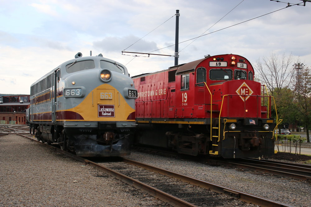 Preserving & Operating   Historic Rail Equipment    Learn more about our restorations