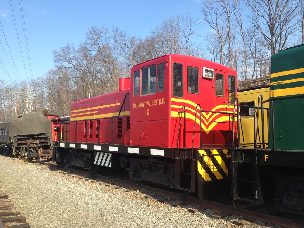 No. 16 was repainted in 2014 by volunteers at the Whippany Railway Museum.  (Richard J. King photo)