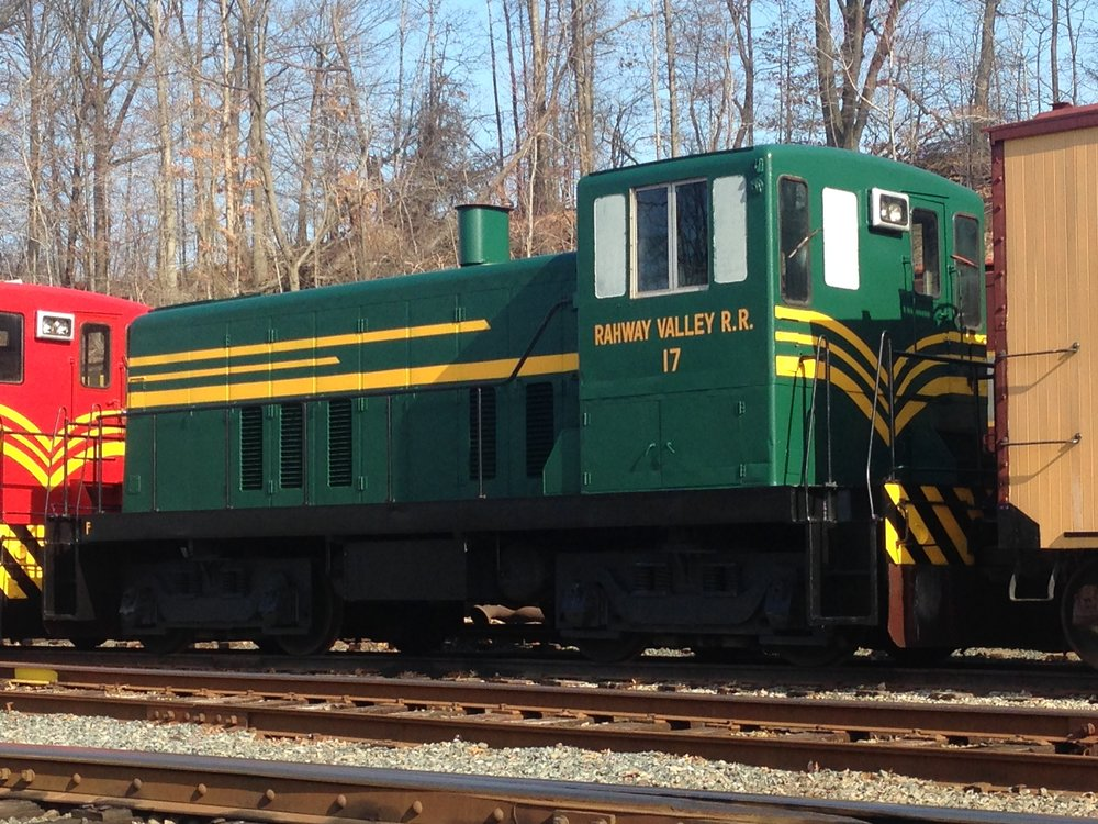 "No. 17 was cosmetically restored, by WRyM volunteers, to its ""as delivered"" paint scheme in 2014. Tri-State intends to perform additional work to return the locomotive closer to its original appearance.  (Richard J. King photo)"