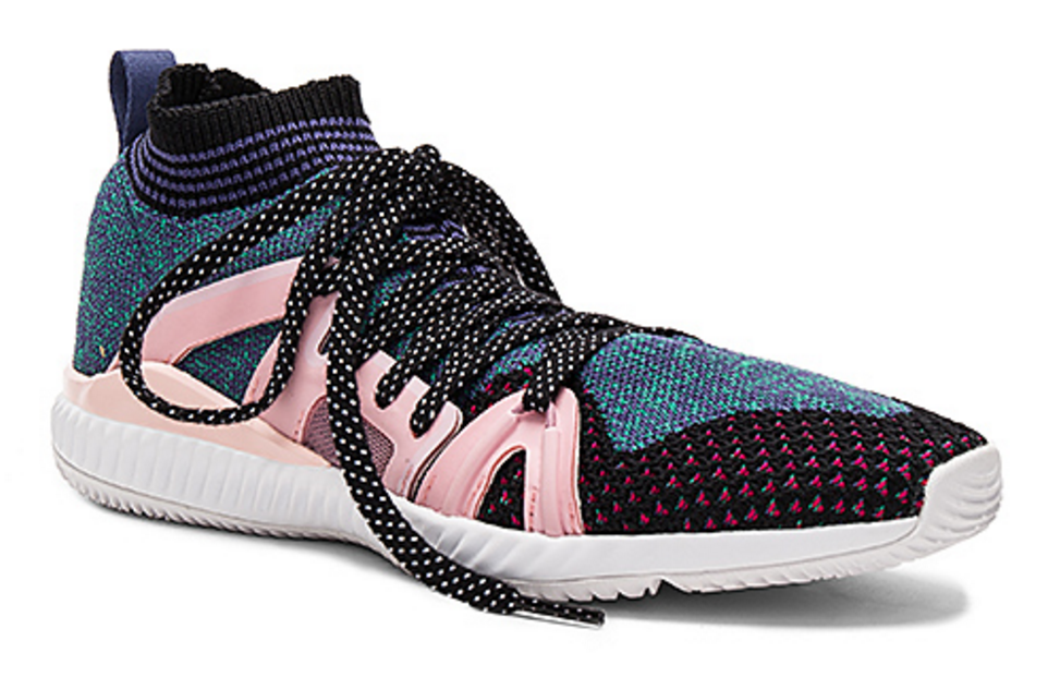"""I call this Adiddas x Stella Marcarthy shoe, """"The Hephlants and Woozels"""". That's not the name, but hey Stella if you're hiring for an official """"namer"""" of sorts, I've got you covered. This shoe is for the yogi/raver girl who want's to be comfortable and who came to party. You'll see this girl taking side adventures during Coachella weekend, and maybe even sticking around a little longer to do some famous Palm Springs Yoga clinic's. Free Spirits, take note and get on it! Find these at Revolve.com"""