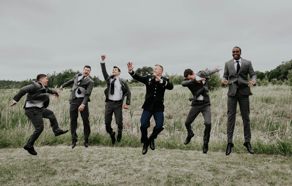 Since Will typically takes care of all the groomsmen getting ready photos and group shots with the groom, when I sort through them after the wedding I'm usually graced with some surprises...this one didn't disappoint, so I had to share it!!!