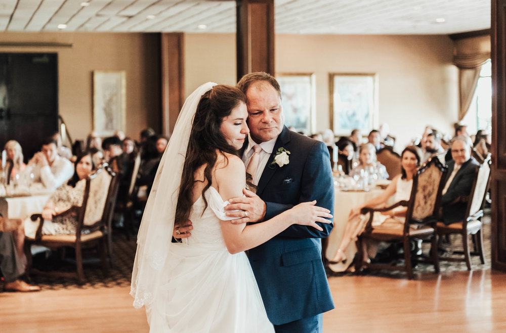 Cue the tears! I can't ever seem to hold it together during emotional father/daughter dances.