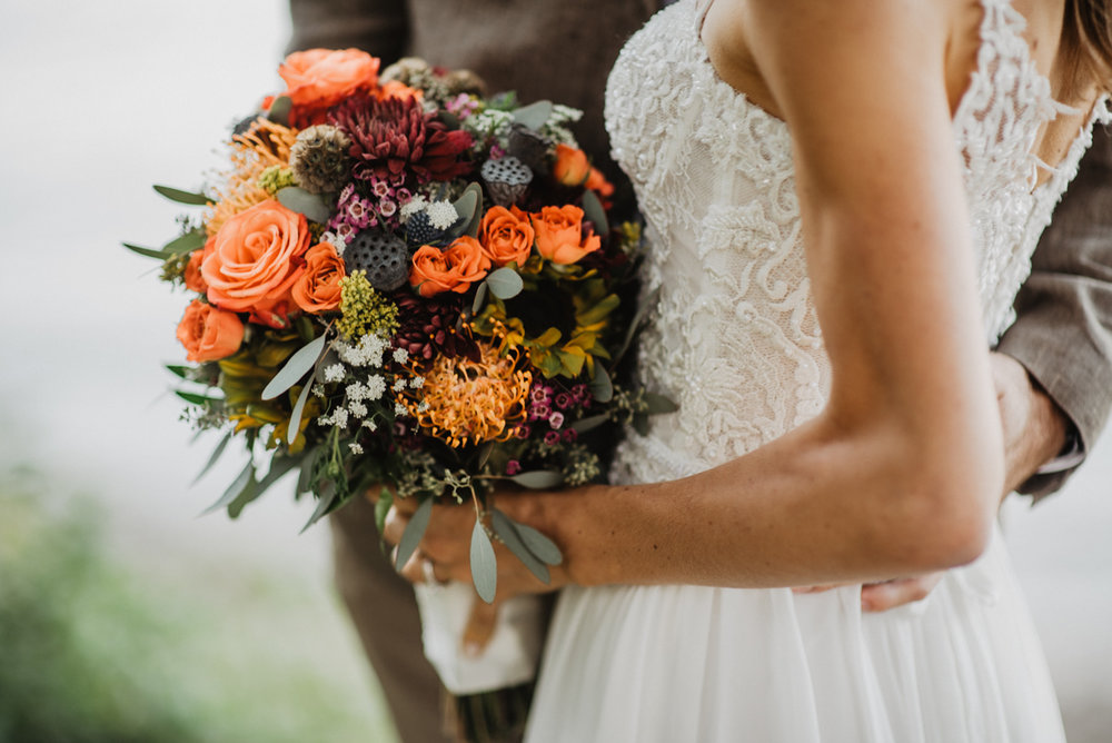 I was a little obsessed with closeups of this bouquet. Florals by Petals and Glass.