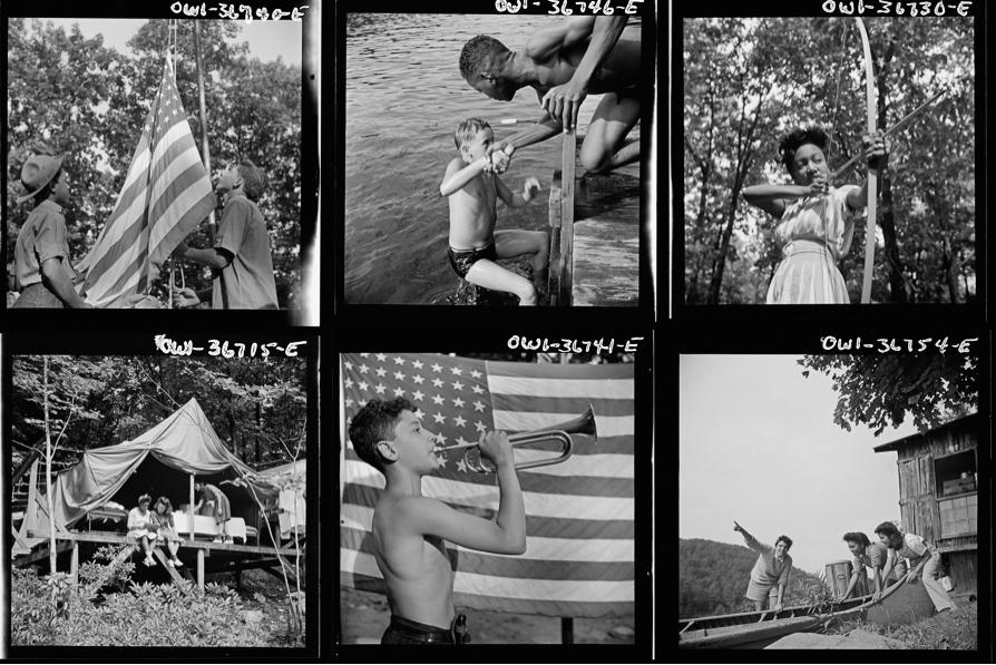 Photos by Gordon Parks via the Library of Congress