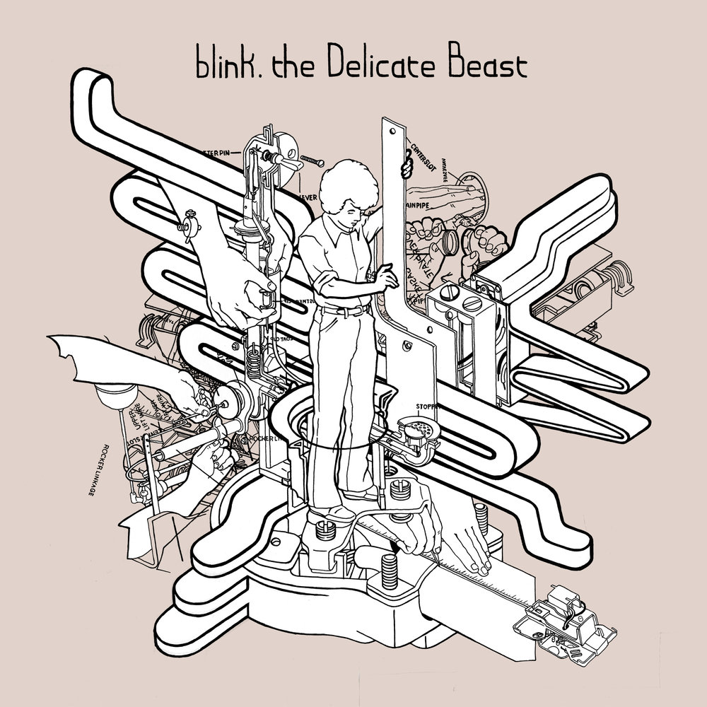 blink. | The Delicate Beast   buy:  MP3   CD   BandCamp   iTunes   Amazon