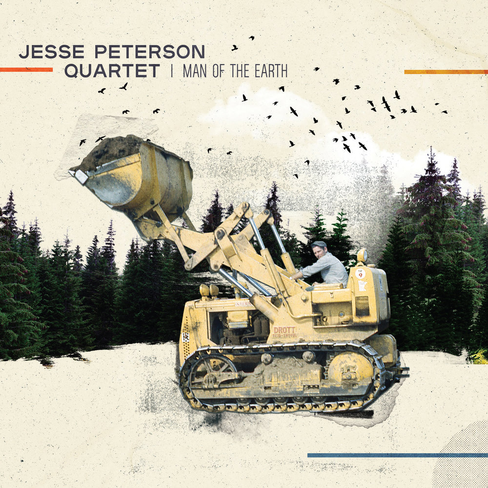 Jesse Peterson | Man Of The Earth   Released July 15  Order  CD/digital
