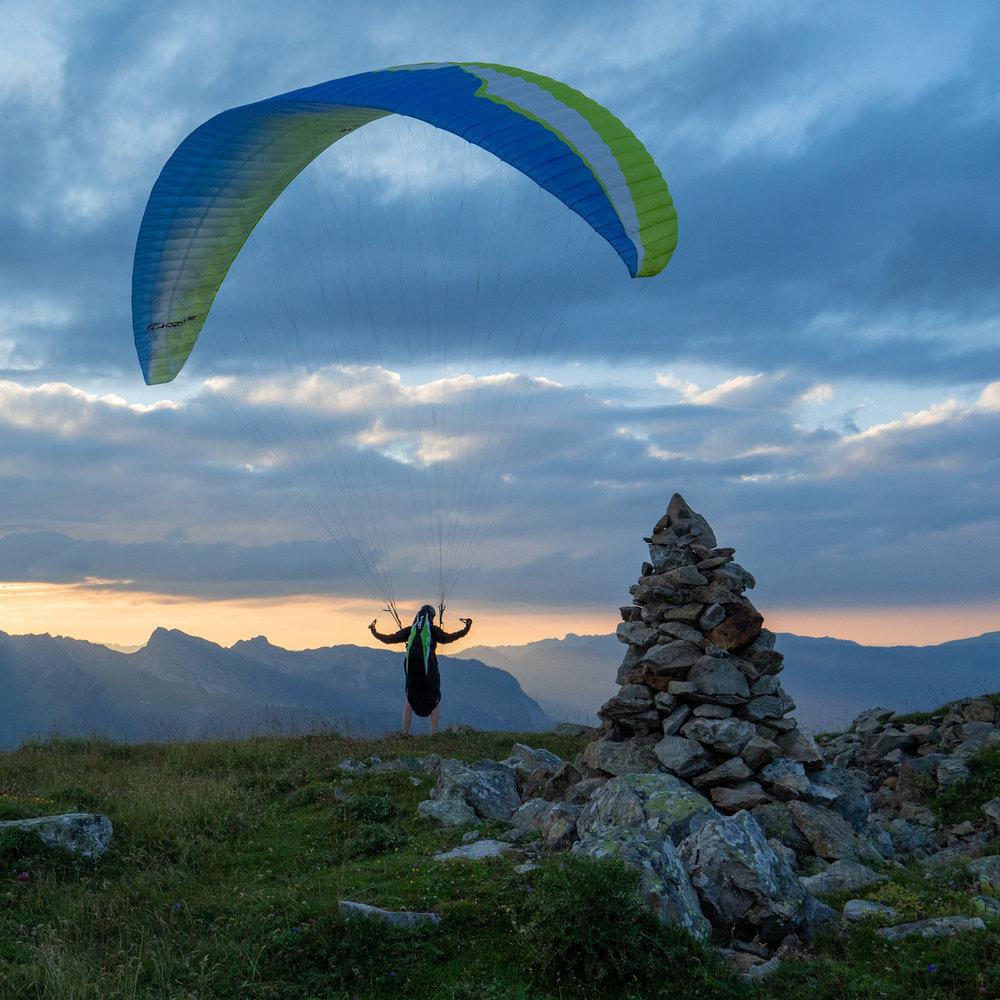 gibel paragliding
