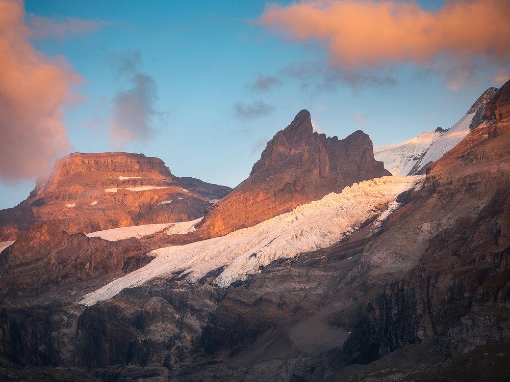 Oeschinen Gletscher