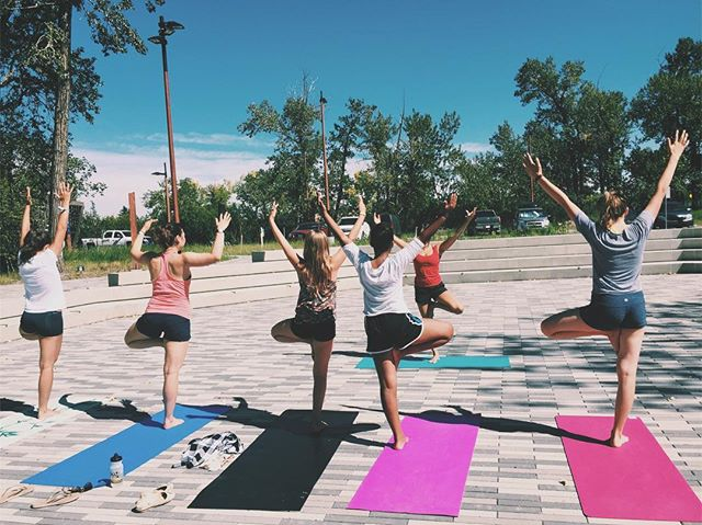 We can't wait to get our yoga groove back on with @wymbin this fall ❤️ Stay tuned for upcoming workshops and class schedules! #TogetherWeThrive