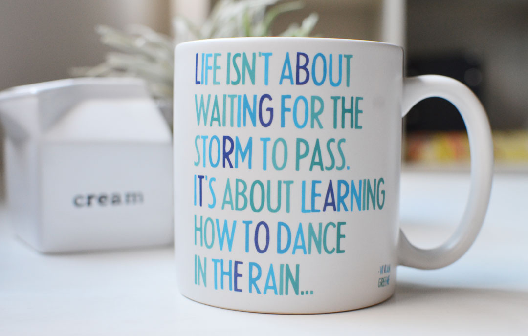 life isn't about waiting for the storm to pass .. theartmuse