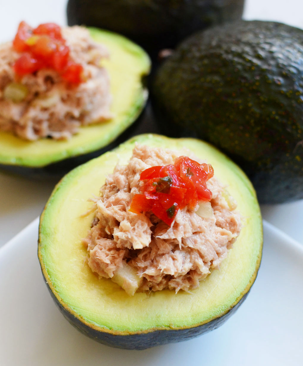 avocado and tuna