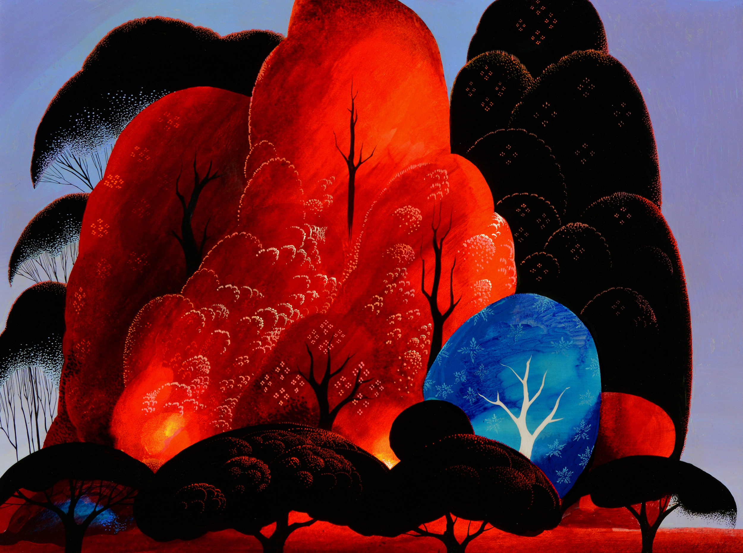 BLAZING GLORY Eyvind Earle