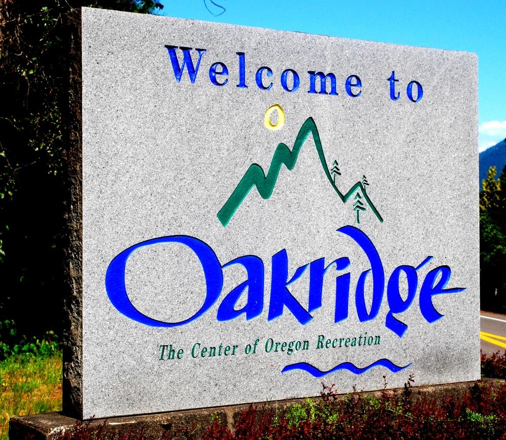 Welcome to Oakridge, OR