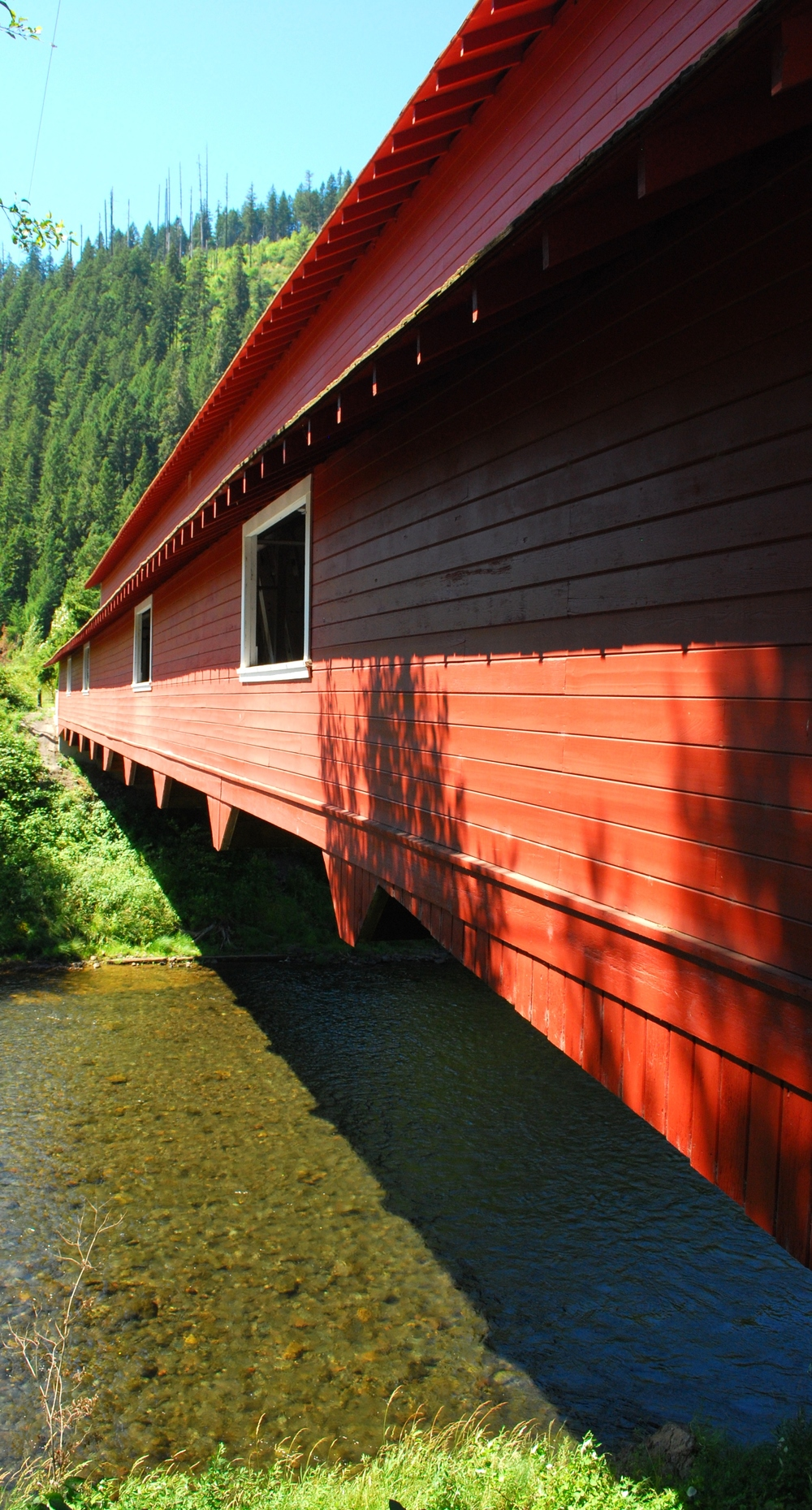 Office Bridge - Westfir, OR