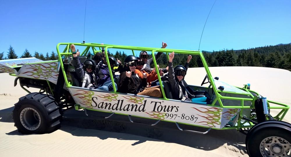 Sandland Adventures Sand Rail Tour - Florence, OR