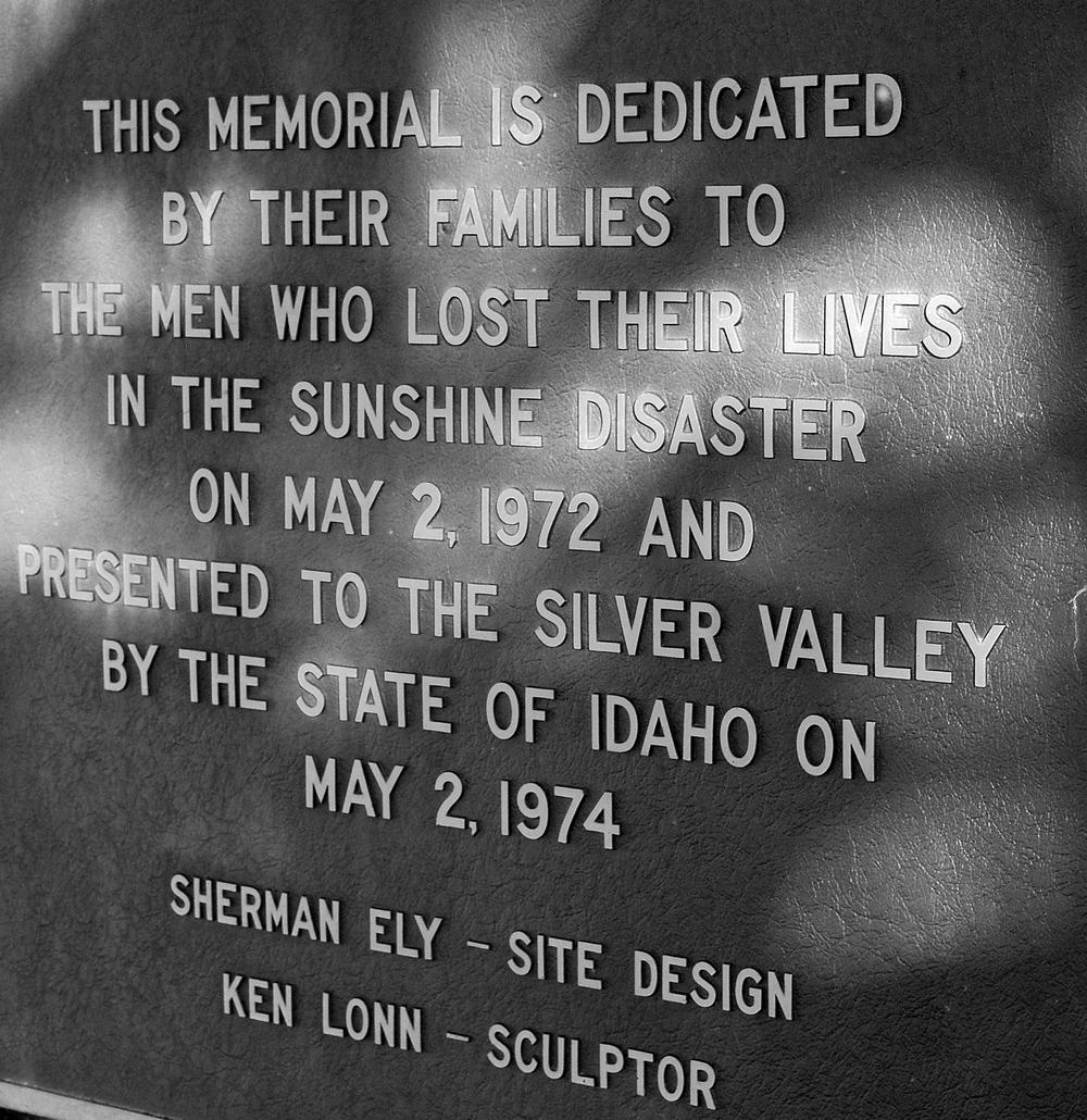 Sunshine Mine Disaster Memorial