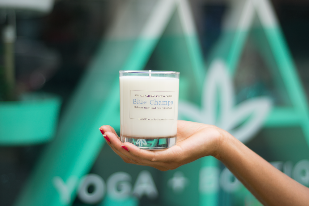 Blue-Champa-Numi-yoga-soy-candle-phthalate-free
