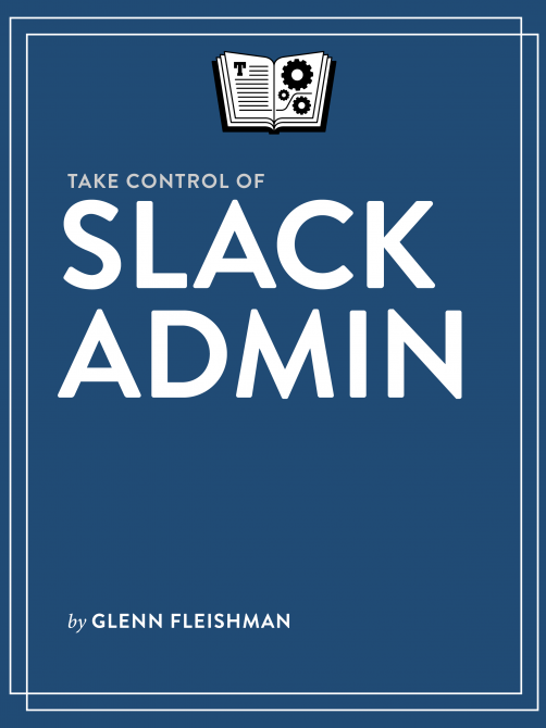 BUY Take Control of Slack Admin
