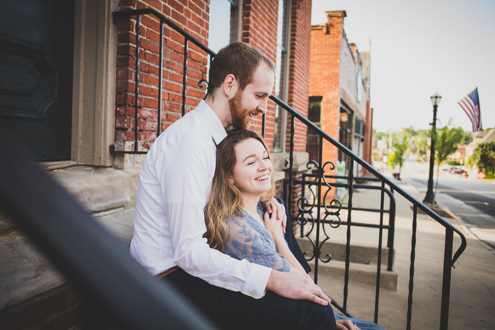 Michelle Carter Photography-Downtown Medina Engagement Session-Brianna and Josh-56.jpg