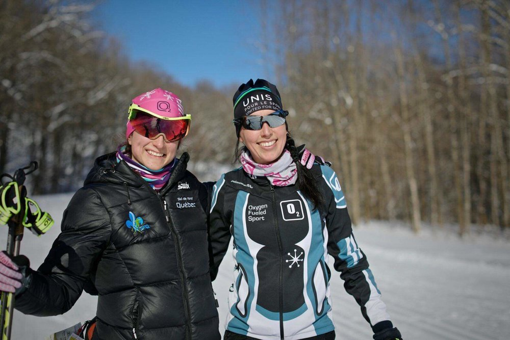 After only one hour with Sophie, I feel like I'm finally gliding like a pro! I never thought a few tips from an experienced skier would make cross-country skiing so much easier. - Marika, ski lesson client