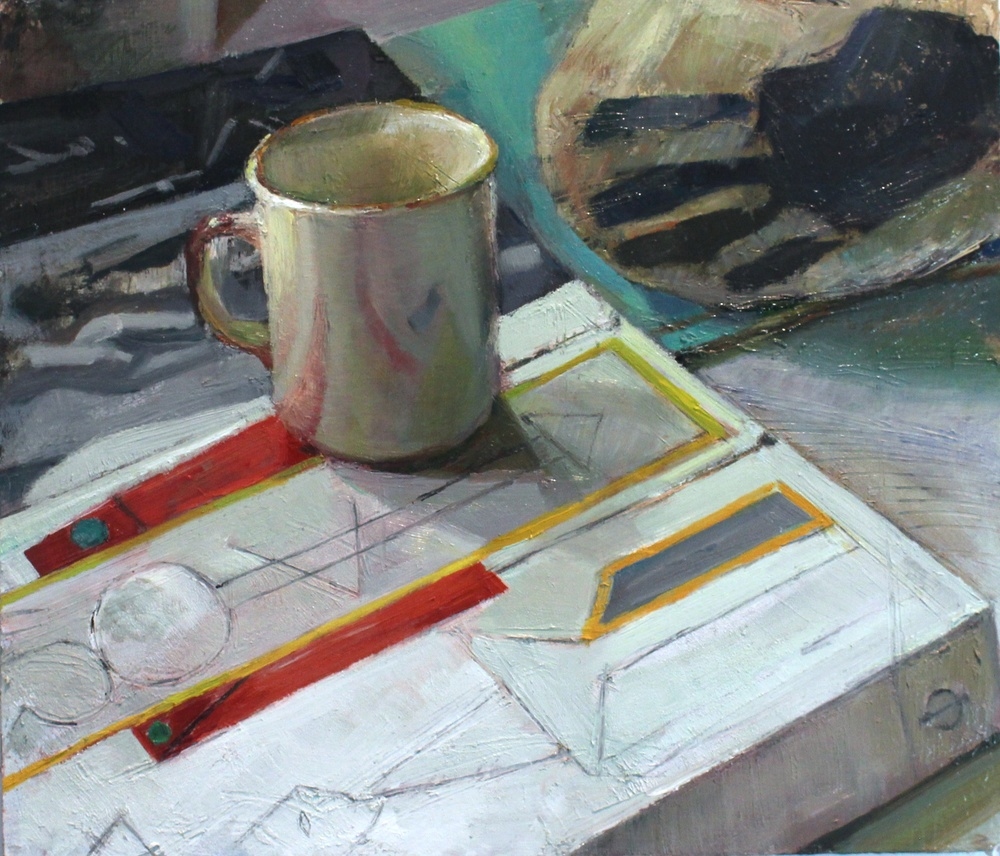 In the Studio with Cup and Picasso_14x16_oil on panel.jpg
