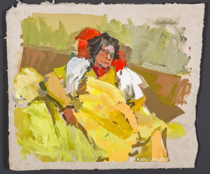 Yellow Blanket (Mother)