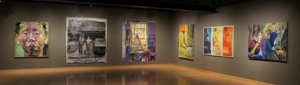 Installation shot (courtesy of Stephanie Baugh at Monmouth College)