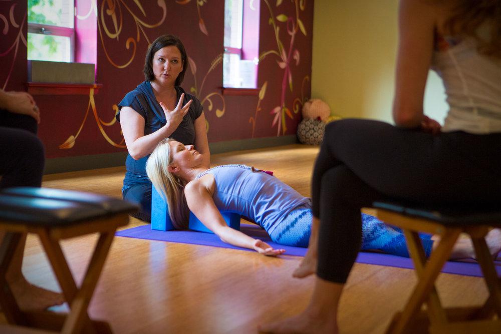 Restorative Yoga Teacher Training - Julee